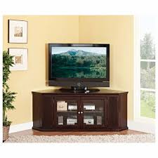 tv unit with glass doors furniture brown wooden media cabinet with tv stand using storage