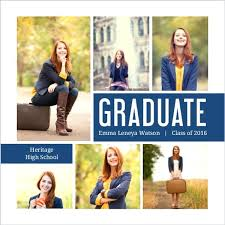 how to make graduation announcements how to make graduation invitations navy photo collage graduation