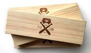 tie box gift laser etched wood necktie box fancy tie gift box
