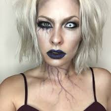 half face halloween makeup ideas 89 best halloween makeup ideas on instagram in 2017 glamour