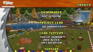 go play lumberjacks credits wii us youtube