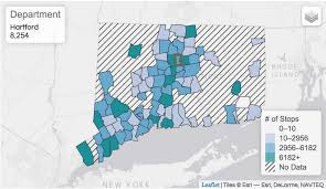 Ccsu Map New Connecticut Police Traffic Stop Data Released Trendct