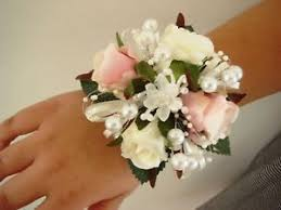 wedding flowers ebay wrist corsage wedding flowers proms ebay