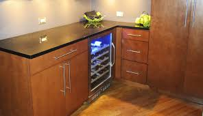 Built In Refrigerator Cabinets Neat Places To Put Your Built In Wine Cooler