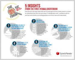 lexisnexis screening solutions long live small data five insights from the smalldataforum bis