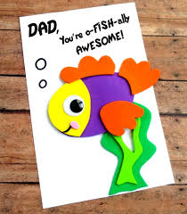 fathers day cards diy s day fish card with printable template thrifty jinxy