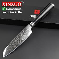vg10 kitchen knives 5 santoku knife japanese vg10 damascus stainless steel kitchen