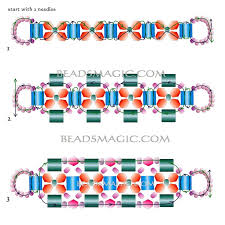 bracelet bead pattern images 920 best jewelry making ideas images beaded jewelry jpg