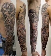 skull and sleeve skull and roses sleeve skulls