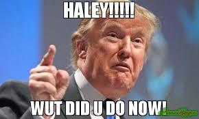 Haley Meme - happy 60th birthday suresh mamu i got you a new wall meme
