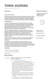 Sample Msw Resume by Sample Social Work Resume Free Msword Resume And Cv Template Free