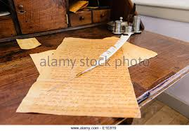 Quill Desk Lamp Quill Ink Stock Photos U0026 Quill Ink Stock Images Alamy