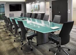 Frosted Glass Conference Table Crescent Large Boardroom Table Stoneline Designs