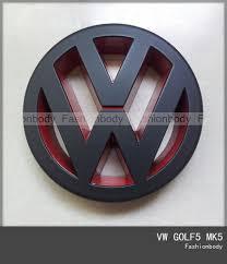 subaru emblem black vw golf5 mk5 emblem gti tdi front grill badge volkswagen logo