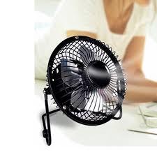 ventilateur de bureau portable dc 5 v petit bureau usb 4 lames refroidisseur de