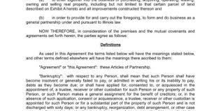 8 key clauses that strengthen business partnership agreements with
