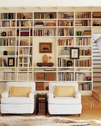 Living Room Bookcases by Black And White Rooms Martha Stewart