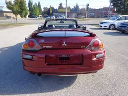 2003 mitsubishi eclipse hatchback used 2004 mitsubishi eclipse certified spyder gt for sale in