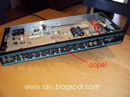 diary of a handyman repairing a peavey bandit 112 guitar amp