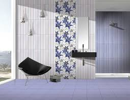Bathroom Tiles Toronto - vancouver blue digital 30x45 cm wall tiles glossy