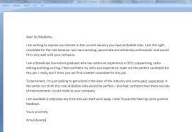 cover letter for first job resume badak