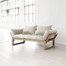 Convertible Wooden Sofa Bed Amazon Com Fresh Futon Edge Convertible Futon Sofa Bed Natural