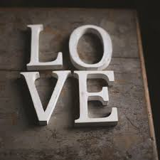 white wooden letters made for you