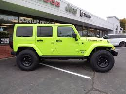 white jeep wrangler for sale ontario 2016 jeep wrangler unlimited rubicon rock in hypergreen