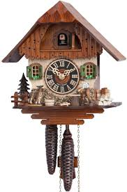 Blue Cuckoo Clock Hermle Clock Movements Custom Made Grandfather Clocks Helping
