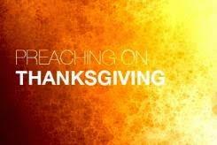 non creative thanksgiving sermon titles