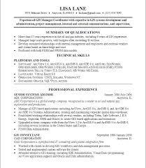 Gis Skills Resume Find Jobs On Careerbuilder Com