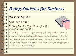 1 doing statistics for business doing statistics for business data