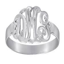 monogrammed ring monogrammed rings for women and inthisveryroom