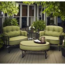 wrought iron patio ottoman winter garden i green sofa i nature i there is no place like home