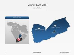middle east map ppt powerpoint slide templates middle east map