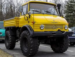 mercedes truck unimog the 1972 mercedes unimog is a truck on a tractor foundation