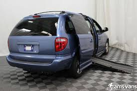 2007 dodge grand caravan wheelchair van for sale 19 999