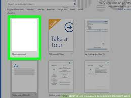 6 ways to use document templates in microsoft word wikihow