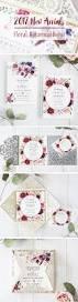 new romantic boho rustic laser cut wedding invitations from ewi
