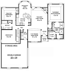 3 bedroom floor plans with garage 3 bedroom 2 bath house plans home planning ideas 2017