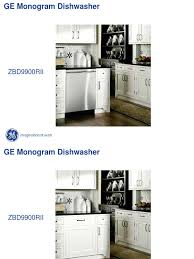 zbd9900rii ge monogram dishwasher service manual dishwasher valve