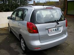 toyota corolla verso 1 8 vvt i t3 5dr u2013 cc u0026c auto sales