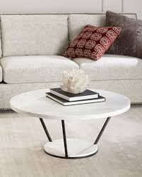 Marble Coffee Table Marble Mirrored Coffee Tables At Neiman Horchow