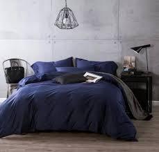 Navy Blue Bedding Set Luxury Navy Blue Cotton Bedding Sets Sheets Bedspreads