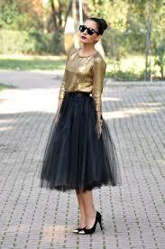 spodnica tiulowa czarna spódnica tiulowa tiul midi wesele druhna vinted pl