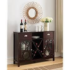amazon com kings brand furniture wood storage sideboard buffet