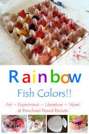 preschool rainbow fish color mixing experiment preschool powol