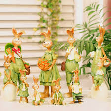 Bunny Rabbit Home Decor Online Get Cheap Easter Bunny Decoration Aliexpress Com Alibaba