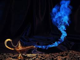 due to budget cuts genies can now grant only two wishes genie lamp