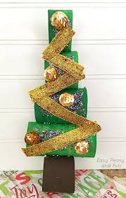 paper roll christmas tree craft easy peasy and fun